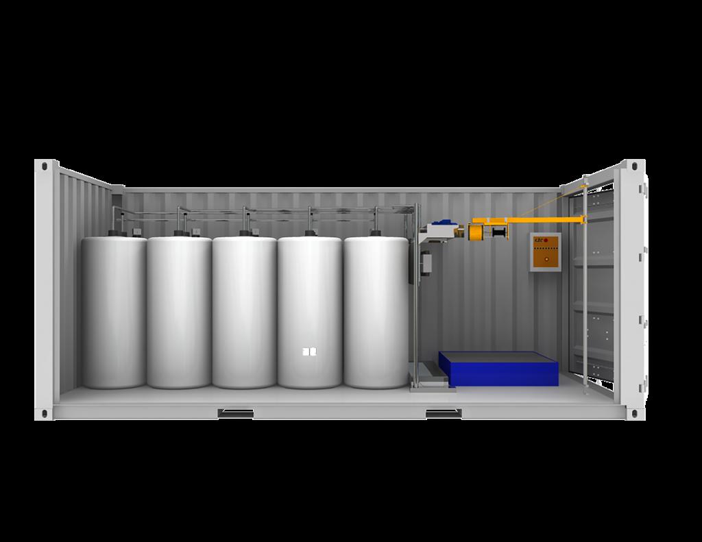 Getec Produkt Zusatzmittelcontainer