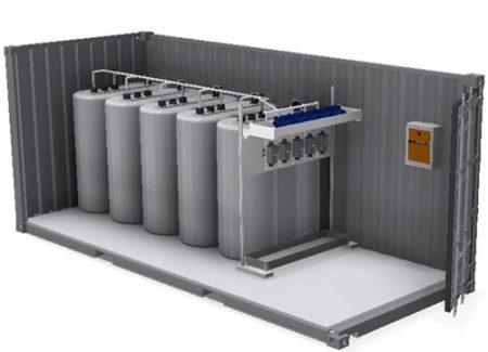 Zusatzmittelcontainer